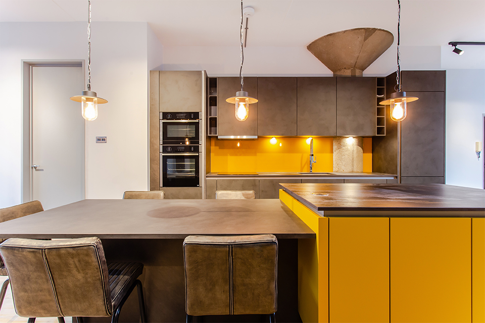 Kitchen Trends 2021 | Image of Kitchen Trend no 7 Colour pops