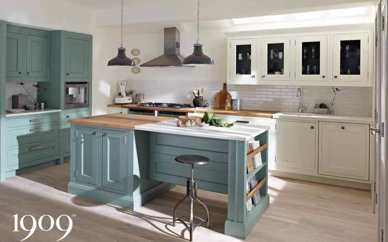 1909 Kitchens | Quarter Round | Painted Shaker Kitchens