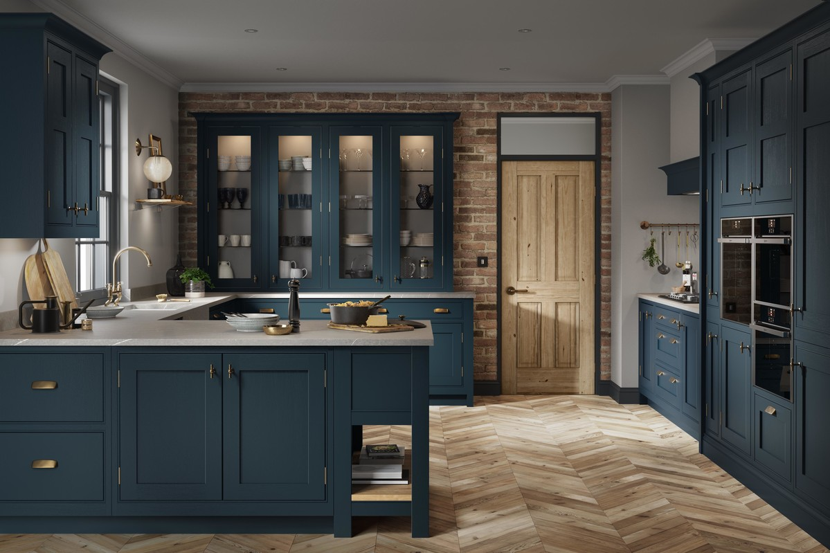 Alchemy | Clarendon Painted Shaker Kitchen | Second Nature Kitchens