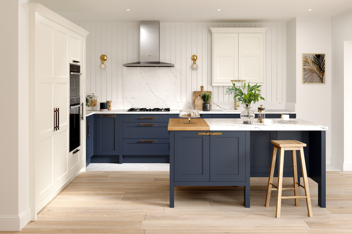 Alchemy | Hunton Painted Shaker Kitchen | Second Nature Kitchens