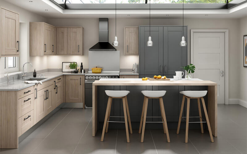 Alchemy | Broadoak Painted Shaker Kitchen | Second Nature Kitchens
