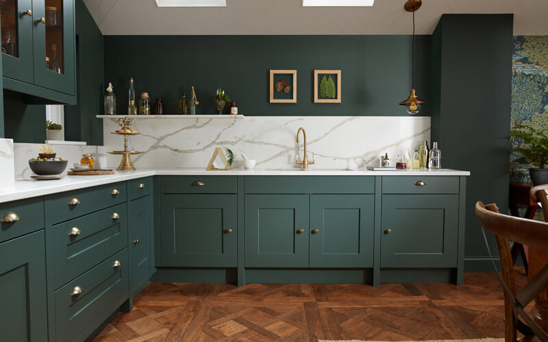 Alchemy | Fitzroy Painted Shaker Kitchen | Second Nature Kitchens