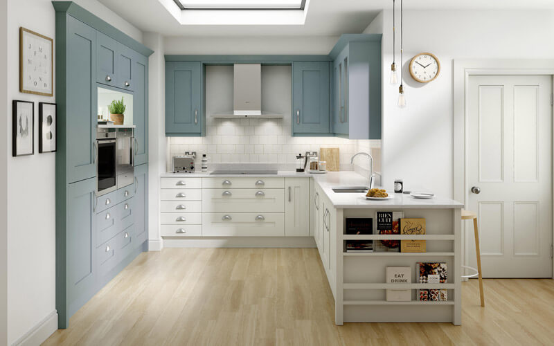 Alchemy | Milbourne Painted Shaker Kitchen | Second Nature Kitchens
