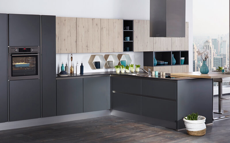 Eco Kitchens | Eco Handleless Kitchen | Hertfordshire Kitchens