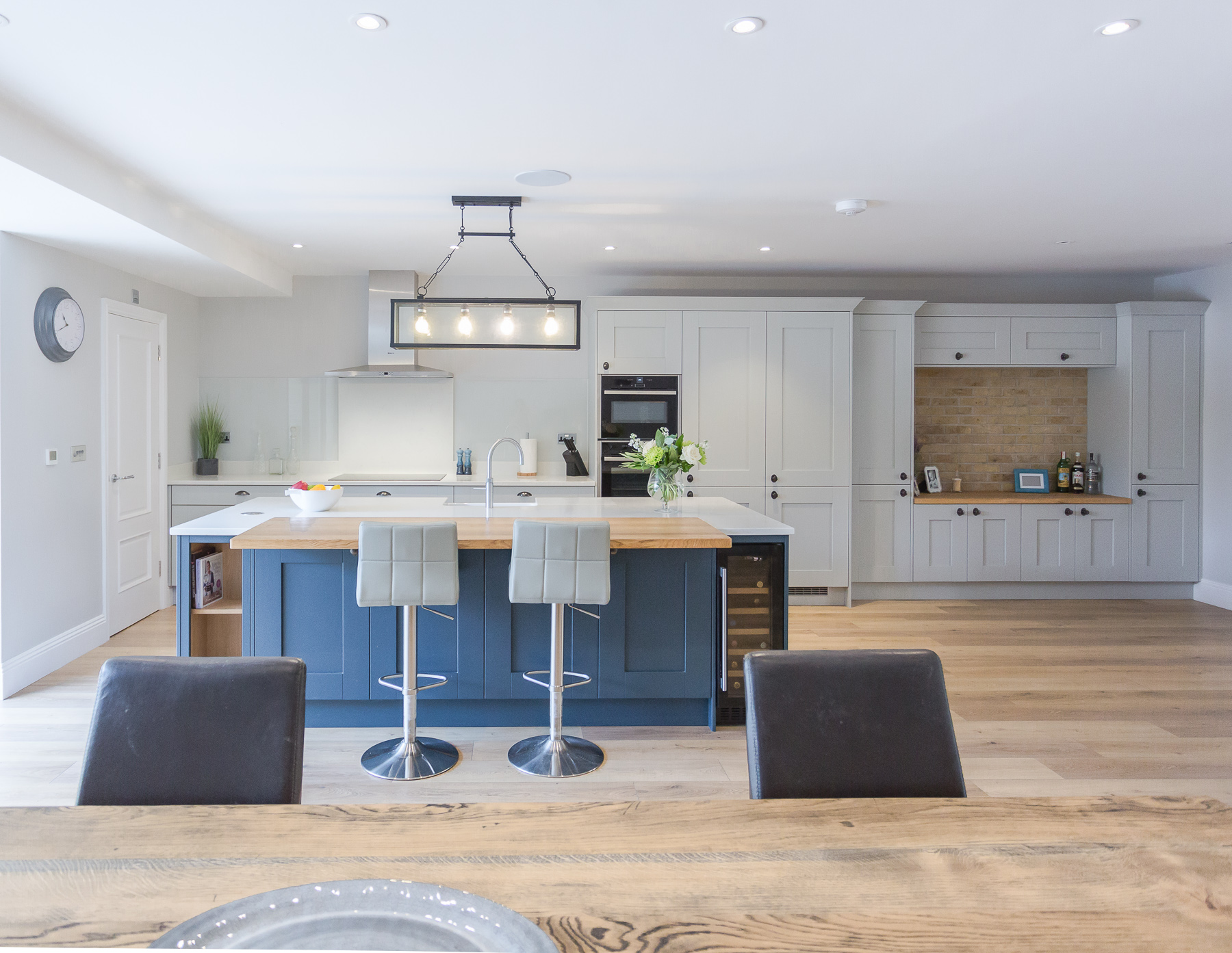 C&C kitchens Hertfordshire - Milbourne Hartforth Blue & Partridge Grey